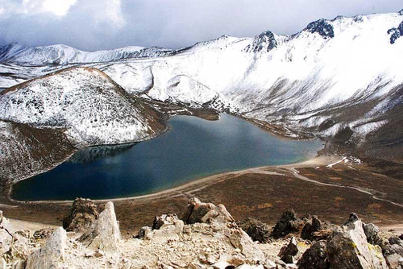 El Nevado de Toluca, en el Estado de México