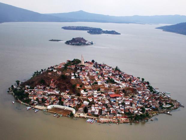 Janitzio en el Estado de Michoacán