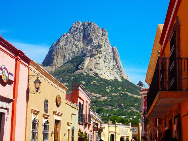 La Peña de Bernal en Querétaro