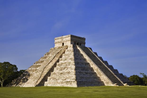 Las pirámides de Chichén Itzá en Yucatán