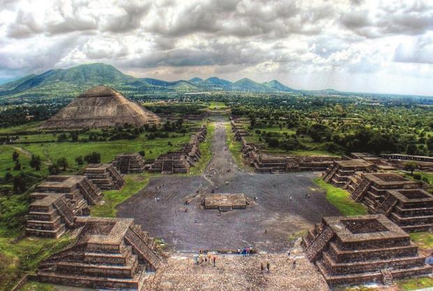 Las pirámides de Teotihuacán, en el Estado de México