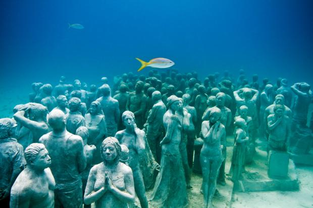 Museo Subacuático de Arte en Cancún, Quintana Roo